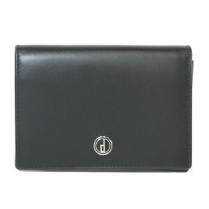 Dunhill   Card Case Logo motif Leather