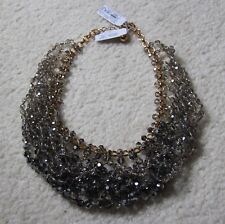 Kate Spade Collar Necklace Grey Ombre Multi Retail $298
