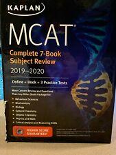 Kaplan MCAT Complete 7-book Subject Review (2019-2020)