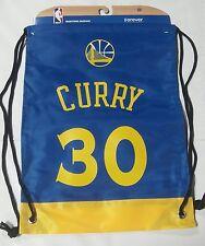 Stephen Steph Curry #30 Warriors Jersey Back Pack/Sack Drawstring gym Bag NBA