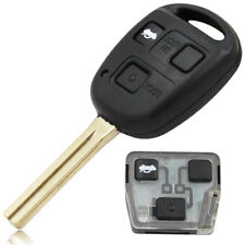 FOR LEXUS IS200 GS300 LS400 RX300 COMPLETE VIRGIN 3 BUTTON REMOTE KEY FOB TOY48
