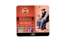 Pack of 48 Koh-I-Noor Mondeluz Hexagonal Water Coloured Pencils