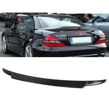 CARBON FIBER For Mercedes Benz R230 SL500 SL63 V Style Trunk spoiler Convertible