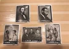 Postage Stamps Lot MLK Civil Rights Ajman collectible stamps vintage