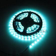 Superbright 5mm W 5730 300 SMD Ice Blue Flex 5M LED Strip Light Waterproof 12V