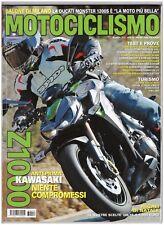 MOTOCICLISMO 12 2013 - KAWASAKI Z1000 - VESPA  PRIMAVERA 125 - YAMAHA XV950R