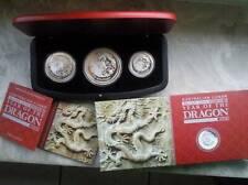 Lunar 2 Drache 3 Coin Set 2012  max.1000 Stück Proof