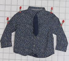 Party Long Sleeve Floral Shirts (2-16 Years) for Boys