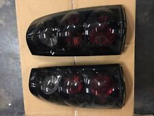 2003-2007 Chevrolet Silverado Smoke Tail Lights Brake Lamps Left & Right