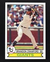 2016 Topps Archives #188 Brandon Crawford - NM-MT