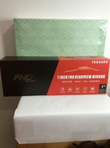 Toguard 7 Inch FHD Rearview Mirror CAR DVR