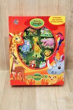 Livre éducatif pour enfants avec figurines animaux - accroche-toi