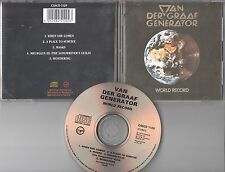 Van Der Graaf Generator  CD WORL RECORD (c) 1976 Virgin