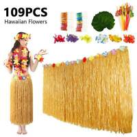 109PCS Table Decorations Luau Moana Bulk Green Hawaiian Tropical Party Leaves AU