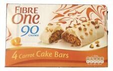 Fiber One Carrot Cake 4 Bars 90 Calories 100g Breakfast Bar