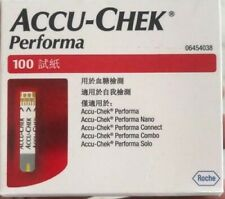 Accu chek Performa 500 Test strips (5 x 100)strips EXP:- 2021/5 Made In USA