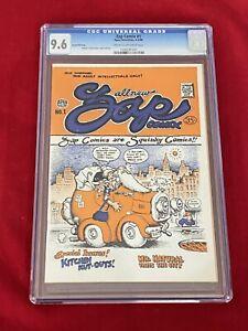 Zap Comix #1 2nd Print CGC 9.6 Apex Novelties 1968 Robert Crumb! Rare Second