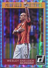 Donruss Soccer 2015 Red [49] Midfield Maestros Chase Card #23 Wesley Sneijder
