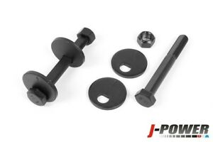 Front Lower Control Arm Caster Kit 12.9 Grade Cam Bolts For 94-99 Dodge Ram 4x4