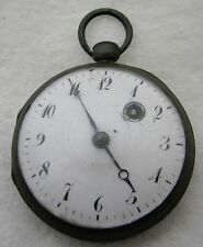 ANTIQUE KEY WIND FUSEE POCKET WATCH PARTS REPAIR