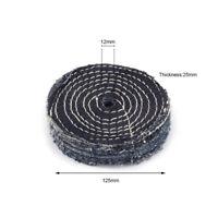 "5"" Denim Cloth Polishing Wheel Pad Buffing Disc for Polisher 1/2"" Bore 1"" Thick"