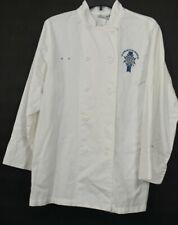 Chef Works Le Cordon Bleu Womens Button Front Long Sleeve White Chefs Shirt S