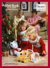 "SEARS CHRISTMAS WISH BOOK 1980 2"" x 3"" Fridge MAGNET VINTAGE NOSTALGIC"