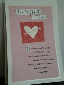 Valentine's Day Card- From My Heart To Yours by: American Greetings