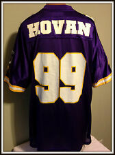MINNESOTA VIKINGS CHRIS HOVAN REEBOK NFL AUTHENTIC JERSEY ADULT XLARGE FREE SHIP