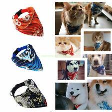 1Pcs Pet Dog Scarf Collar Puppy Cat Triangular Neckerchief Flower Bib Bandana#Q