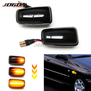 LED Dynamic Side Marker Light Lamp For Peugeot 406 106 306 806 For Fiat Scudo