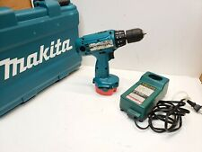 Makita 1433 14.4v Cordless Drill Driver w/12v Battery & Charger in case