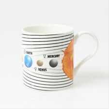 Fine China Solar System Earth Planets Tea Coffee Mug Cup Educational Gift In Box