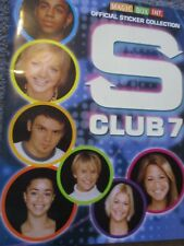 S CLUB 7 MAGIC BOX INT STICKER ALBUM BOOK EMPTY