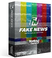 Breaking Games, Fake News Card Game, New And Sealed