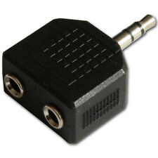 3.5mm Mini Jack Plug to 2 Sockets Stereo Headphone Splitter Adaptor