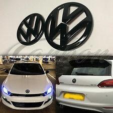 Logo Noir Brillant emblème calandre coffre, avant/arrière VW SCIROCCO MK3