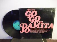 """Damita Jo,RCA Camden,""""Go Go With Damita Jo"""",US,LP,mono,In Shrink,RnB/soul,Mint-"""