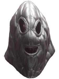 Original Scary Mask Genuine Leather Suffocating Hood Cosplay Ghost Cuir Leder