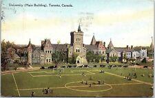 Postcard Canada Ontario University Main Building AD6