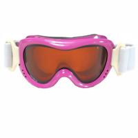 Brizza Maschera sci Doppia lente Antifog Junior colore Fuxia trasp articolo 5092