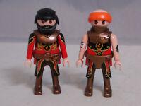 PLAYMOBIL 2 Figuren Figur Novelmore Ritter Krieger KNIGHTS neuwertig #11