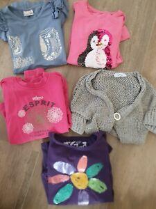 Paket, Sweatshirt LA-SHIRT, Weste Desigual, Esprit, TwinSet, Pomp de Lux Gr. 134