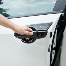 For Honda Civic 2016-2019 Carbon Fiber Style Door Handle Bowl Cover Trim 4 Kit