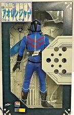 """Medicom 12"""" Power Rangers Goranger Figure Blue go ranger Sentai Aka Rangers 1/6"""