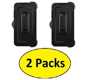 2pcs Replacement Holster Belt Clip For LG G Flex 2 Defender Series Case - Black