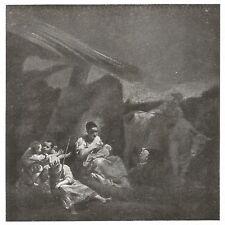 D0230 Giuseppe Maria Crespi - La Famiglia del Contadino - Stampa - 1931 print