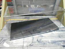 6x  LEERBOX Box Vitrine Show case äh Minichamps c.a 15,5 x 7 x 6,6cm klar 1:43