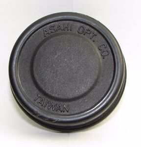 Pentax Ashai Opt Co. Rear Lens Cap Made in Taiwan slip on type vintage