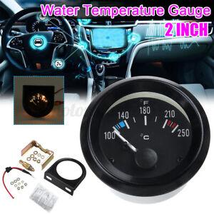"2"" 52mm Car Auto Digital LED Water Temp Temperature Gauge Kit 100 to 250"